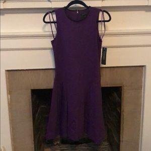 Ralph Lauren Purple Fit and Flare Dress